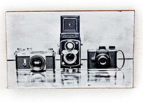 VintageCameraWoodTransfer